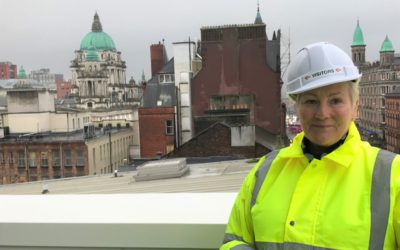 In the executive chair with: Caroline Gumble, Chief Executive, Chartered Institute of Building